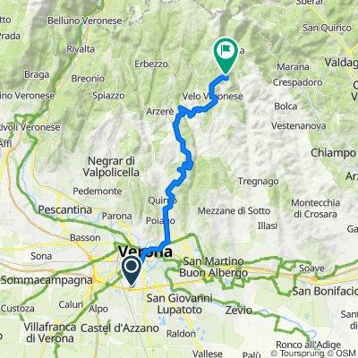 Da Via Flavio Gioia 71, Verona a Velo veronese