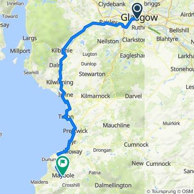 Glasgow to Maybole