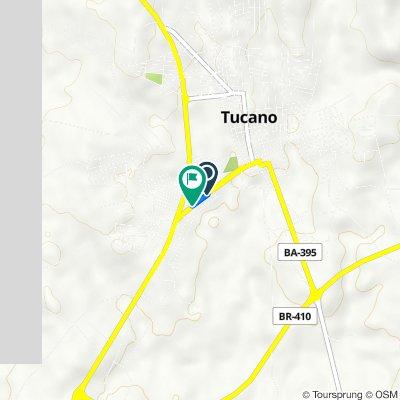 De Avenida Antonio Carlos Magalhães, 377–391, Tucano a Avenida Antonio Carlos Magalhães, 400–730, Tucano