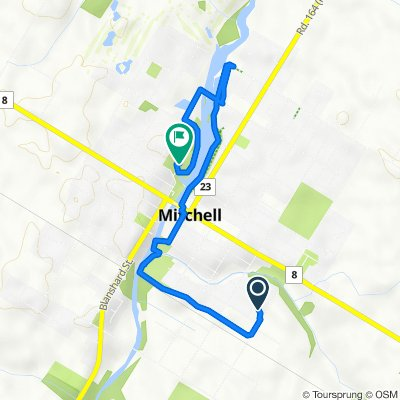 82B Arthur St S, Mitchell to 19 Blenheim St, Mitchell