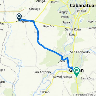 Libertad Street, Zaragosa to Cagayan Valley Road, Gapan City