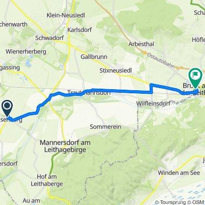 Florianigasse 5, Reisenberg nach Hauptplatz 1, Bruck an der Leitha