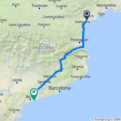 De Place de la Bascule 14, Lespignan à N-340 2, Tarragona