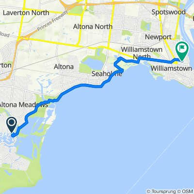 15 Maritime Circuit, Point Cook to 60 Douglas Parade, Williamstown