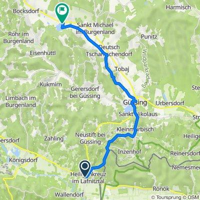 Obere Hauptstraße 10/1, Heiligenkreuz im Lafnitztal nach Rauchwart im Burgenland 202, Rauchwart