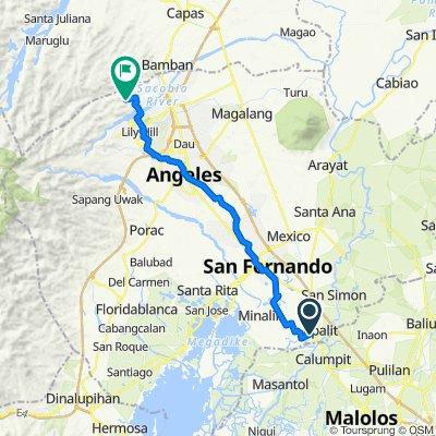 Sampaga 814, Apalit to San Vicente Road 4128, Bamban