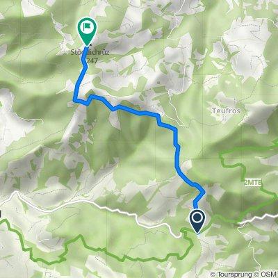 Sattelegg-Passhöhe, Stöcklichrüz