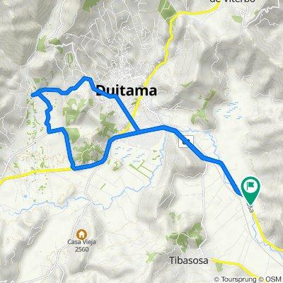 De Duitama-Sogamoso a Duitama-Sogamoso, Ucuanga