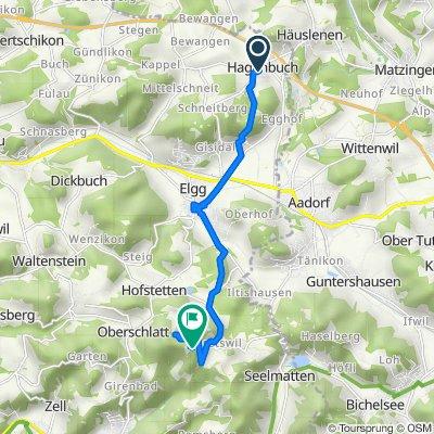 Säntisstrasse 23, Hagenbuch ZH nach Schauenberg 1, Hofstetten ZH