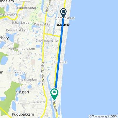 SH 49, Chennai to SH 49, Muthukadu