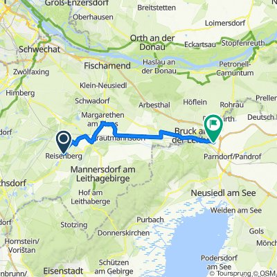Route von Florianigasse 9, Reisenberg