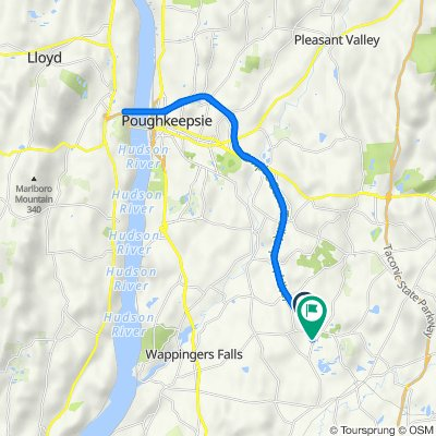 Hudson Valley Rail Trail, Hopewell Junction to Hudson Valley Rail Trail, Hopewell Junction