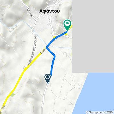 Unnamed Road, Rodos do Ethniki Odos Rodou Lindou 181, Afantou