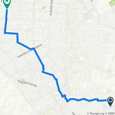 De Unnamed Road, Santa Cruz de la Sierra a Santa Cruz de la Sierra