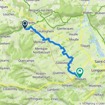 Day 6: from Tournehem-sur-la-Hem to Wisques