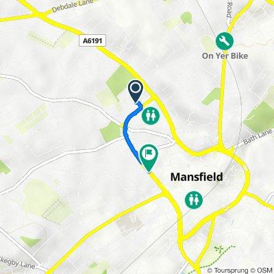 Rosemary Street Health Centre, Rosemary St, Mansfield to Rosemary St, Mansfield