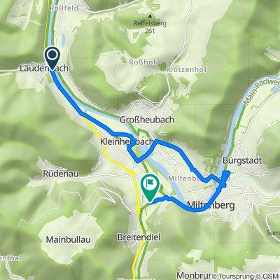 Maingasse 9, Laudenbach nach Breitendieler Straße 44, Miltenberg
