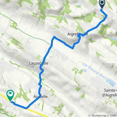 De Avenue de Lanta 17, Drémil-Lafage à Avenue du Lycée 2, Saint-Orens-de-Gameville