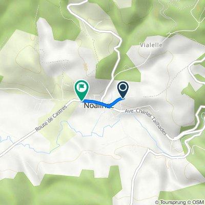De 5 Chemin de la Prade, Noailhac à Avenue Charles Tailhades, Noailhac