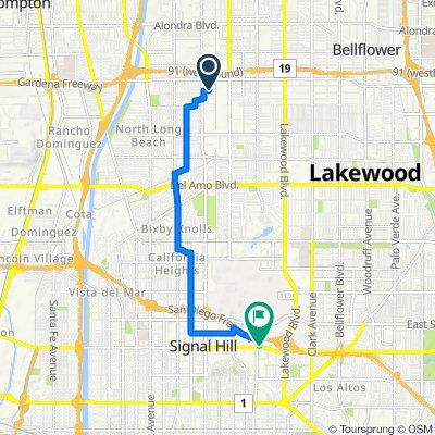 2203 E McKenzie St, Long Beach to 2600 Redondo Ave, Long Beach