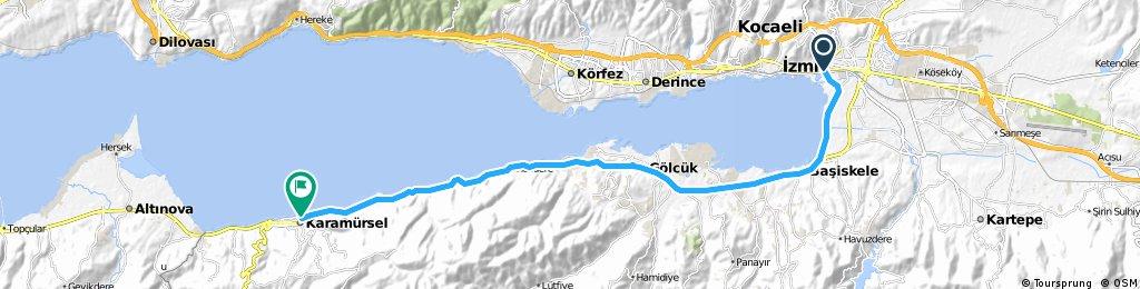 2001 - Türkei-Tour - 03. Tag - Kocaeli - Karamürsel