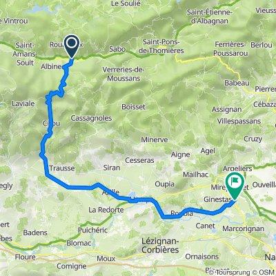 6 Route de la Gare, Rouairoux naar Le Somail