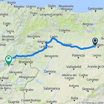 Itinéraire vers Rua de Santo António 1–41, Chaves