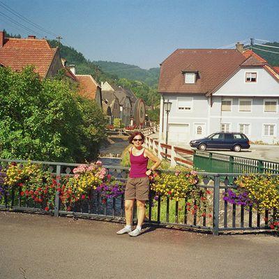 2005 - Passau - Györ - 4. Tag - Melk - Thallern
