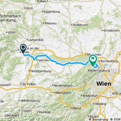 2005 - Passau - Györ - 5. Tag - Thallern - Kierling