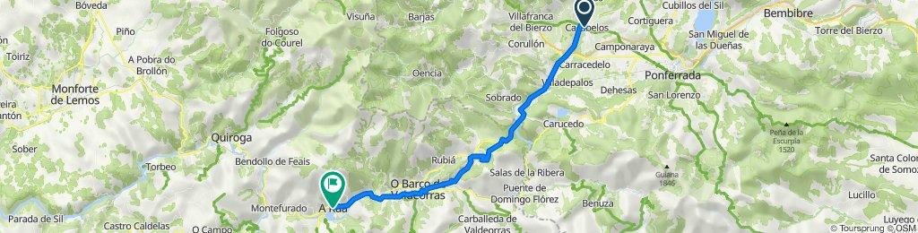 6.- Cacabelos - A Rúa de Valdeorras