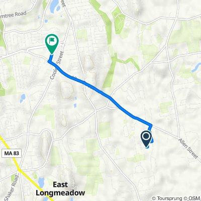 27 Pioneer Cir, East Longmeadow to 360 Cooley St, Springfield