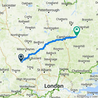 Wales to walsham - Day 3