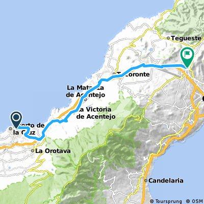 2000 - Teneriffa - 1. Tag - Puerto de la Cruz - San Christóbal de La Laguna