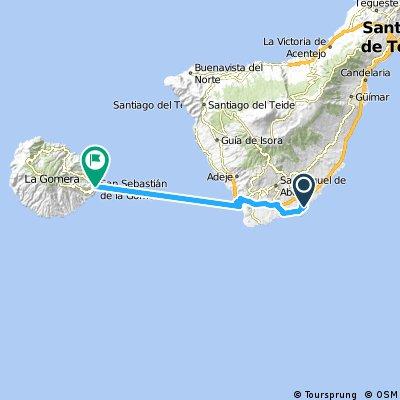2000 - Teneriffa - 3. Tag - El Médano - San Sebastián de la Gomera