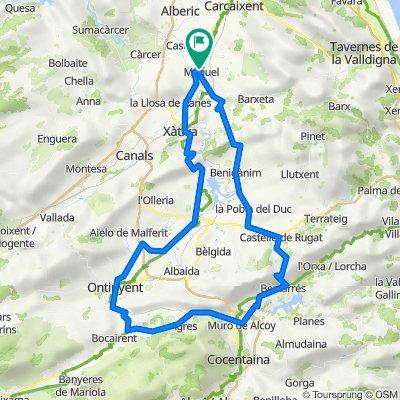 Castello Rugat - Beniarres - Ontinyent