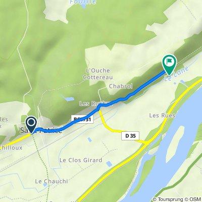 De 26 Rue du Port Véron, Saint-Patrice à 6 Route de la Petite Flanière, Saint-Patrice