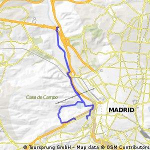 Casa de Campo y Río Manzanares