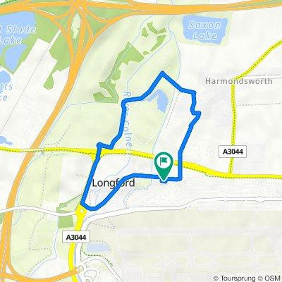 Bath Road 454, Longford to Bath Road 460, Longford