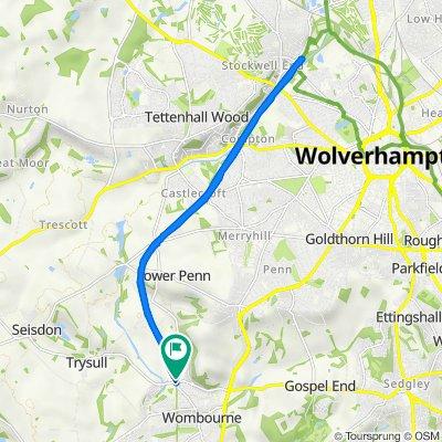 167–199 Station Road, South Staffordshire to 56 Bratch Lane, Wolverhampton