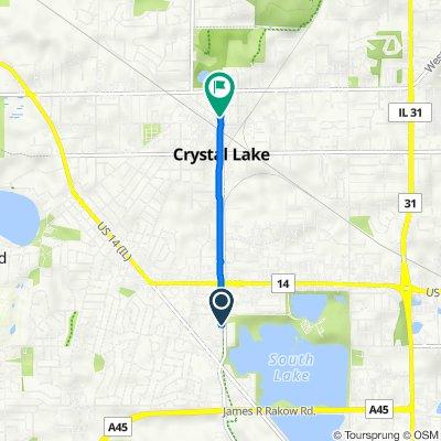 765–799 Eastgate Alley, Crystal Lake to 150 N Main St, Crystal Lake