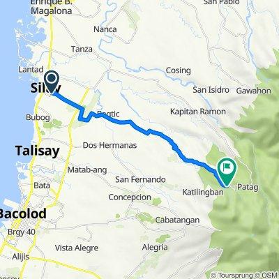 Silay to Lantawan Route