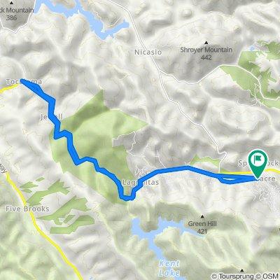 San Geronimo Valley Drive 183, Woodacre to San Geronimo Valley Drive 183, Woodacre