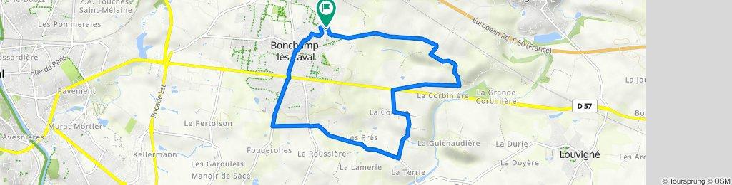 De 10 Impasse Ronsard, Bonchamp-lès-Laval à 9 Impasse Ronsard, Bonchamp-lès-Laval