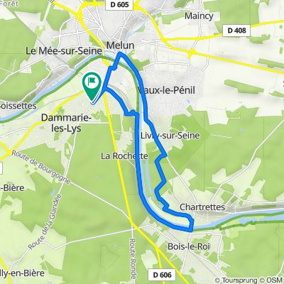De 578–588 Avenue Anatole France, Dammarie-les-Lys à 594 Avenue Anatole France, Dammarie-les-Lys
