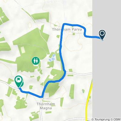 208 Bull Road, Eye to Red House Yard, Gislingham Road, Eye