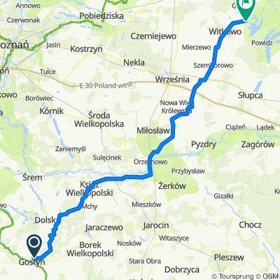 Trasa do Skorzęcin 10a, Witkowo