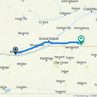 Day 22 Kearney to York