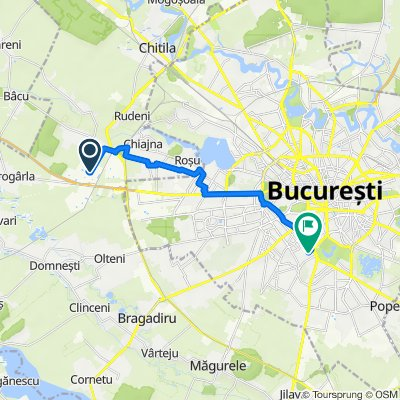 Strada Bujorului, Dragomirești-Deal to Strada Gheorghe Popescu 26, București