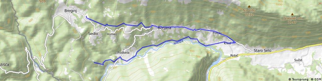 Breginj-Stanovisce-Kred-Podbela-Logje-Breginj