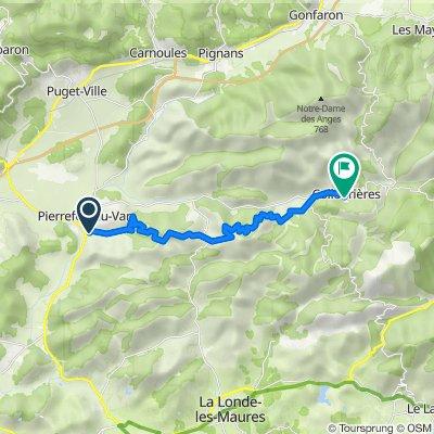 De 18 Impasse de la Ramade, Pierrefeu-du-Var à 6–9 Impasse Marrouges, Collobrières